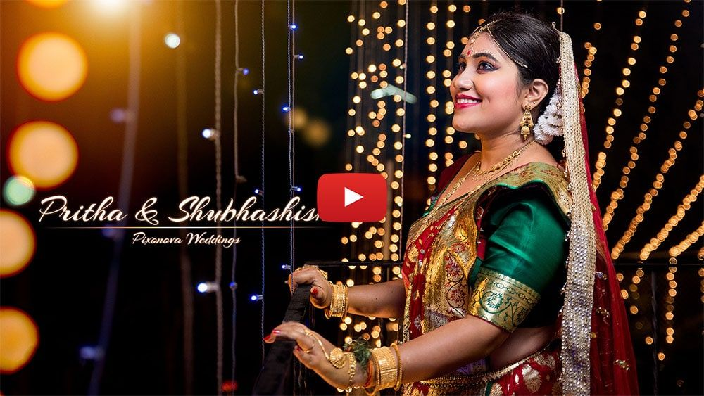Cinematic Wedding video of Pritha and Subhashish