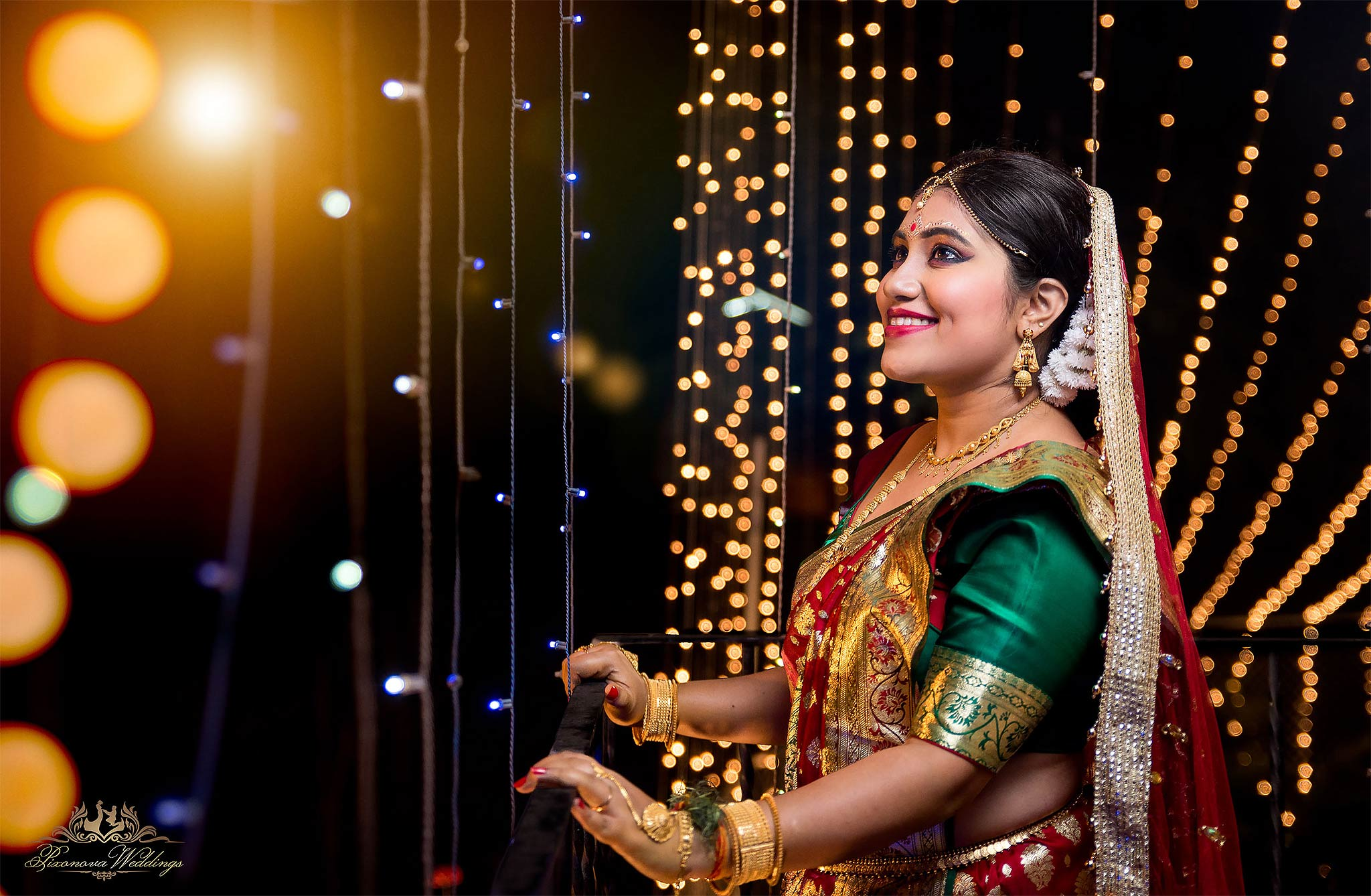 Pritha Sinha wedding portrait by pixonova weddings
