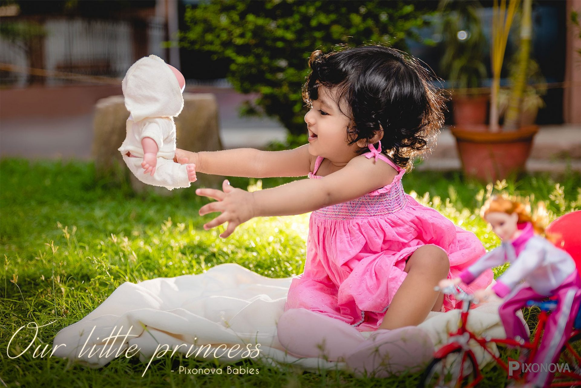 Our little queen - Baby photography by Pixonova Babies